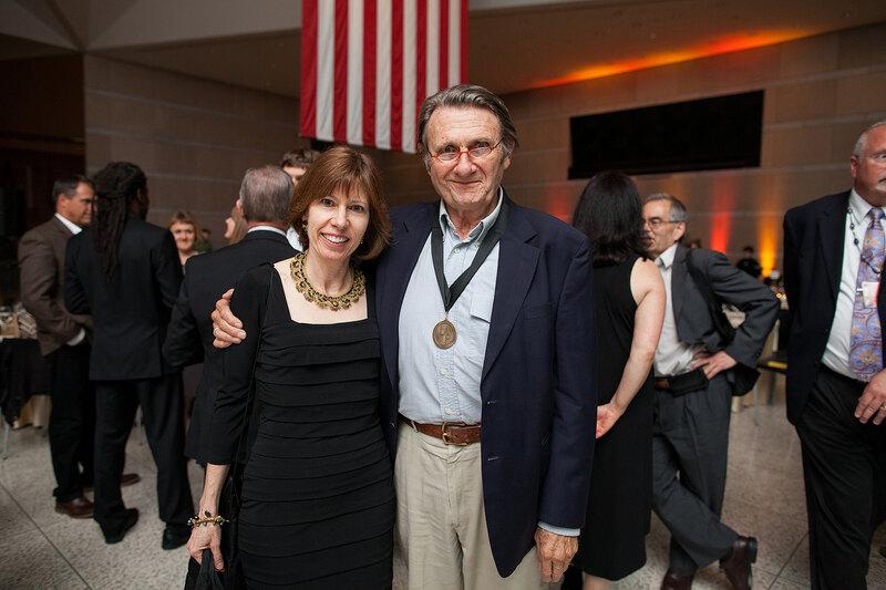 ASLA CEO Nancy Somerville and Grant Jones