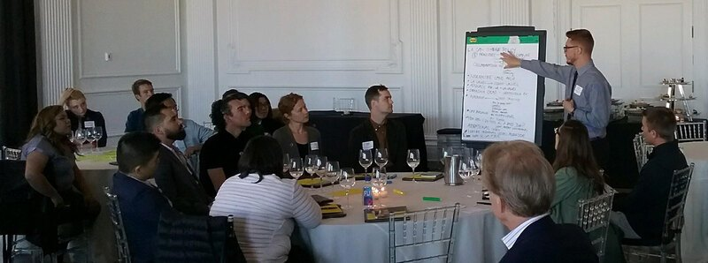 Olmsted Scholars share ideas during the 2018 leadership conversation