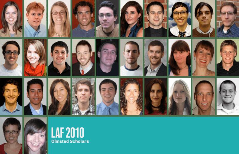 2010 LAF Olmsted Scholars