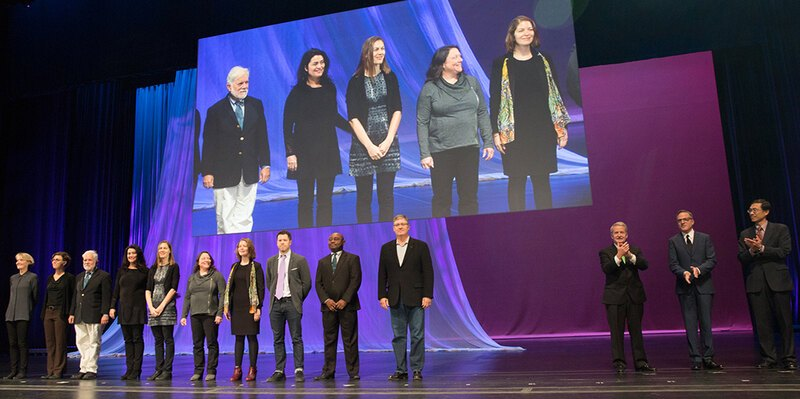 LAF staff and board members onstage among those receiving awards in Research