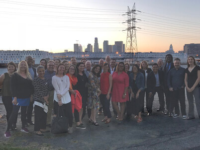LAF Board and Staff by the LA River