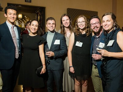 A group of attendees at LAF's 2019 Annual Benefit