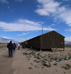 The Manzanar barracks