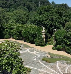 The Pebble Garden at Dumbarton Oaks