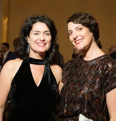 LAF CEO Barbara Deutsch and incoming president Lisa Switkin at LAF's 2019 Annual Benefit