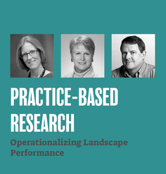 "TEXT: ""Practice-Based Research: Operationalizing Landscape Performance"""