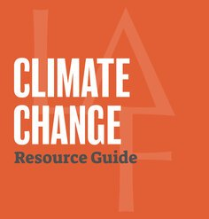 Climate Change Resource Guide graphic